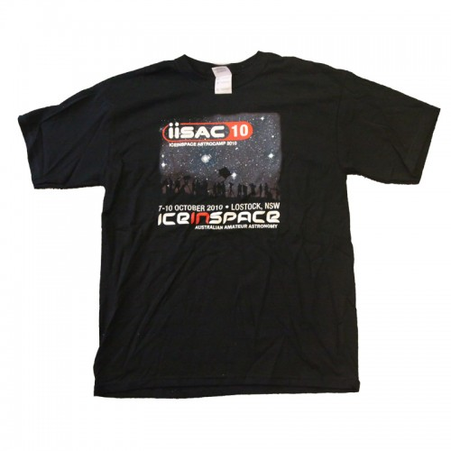 IISAC2010 Black T-Shirt