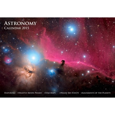 Astronomy Calendar 2015 - Front Cover