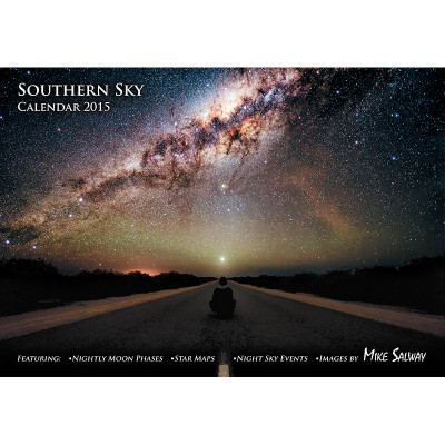 Southern Sky Calendar 2015 - Front Cover