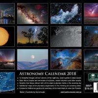 Astronomy Calendar 2018 Back