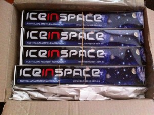 IceInSpace Stickers